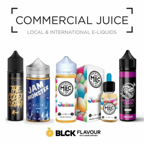 Commercieal Juice - www.blckvapour.co.za