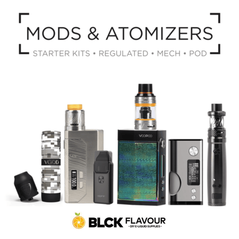 Mods & Atomizers - www.blckvapour.co.za