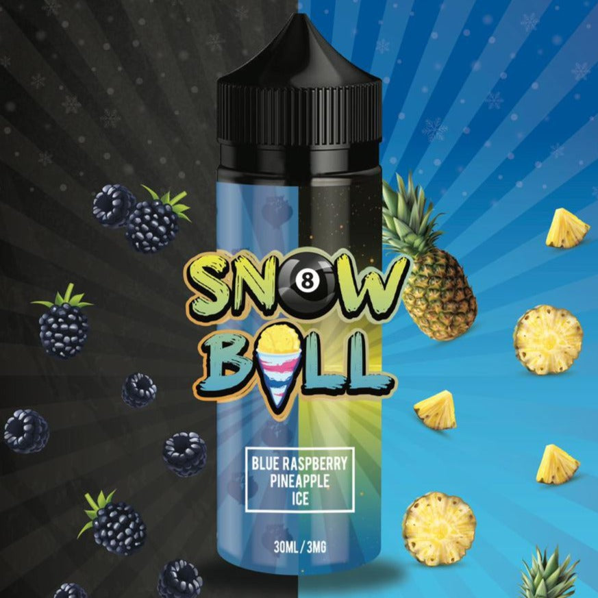 Snow Ball E-Liquid - Blue Raspberry Pineapple Ice