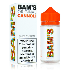 Bam's E-Liquid - Original Cannoli
