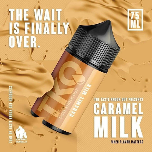 TKO E-Liquid - Caramel Milk