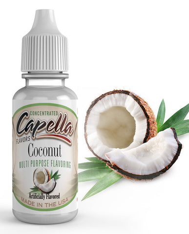 Coconut Concentrate (CAP) - Blck vapour