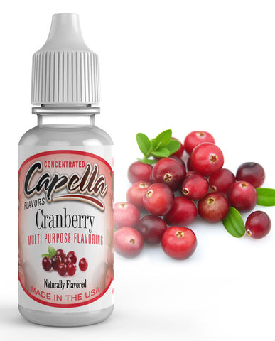 Cranberry Concentrate** (CAP) - Blck vapour