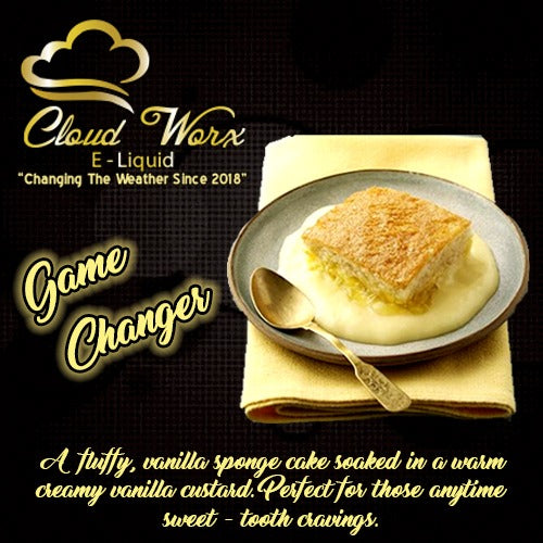Cloud Worx E-Liquid - Game Changer