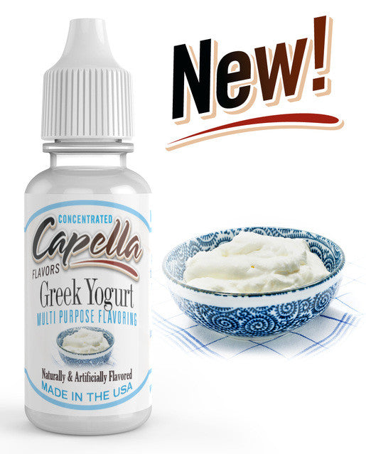 Greek Yogurt Concentrate (CAP) - Blck vapour