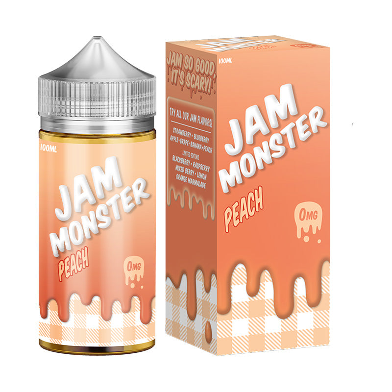 Jam Monster E-Liquid - Peach Jam