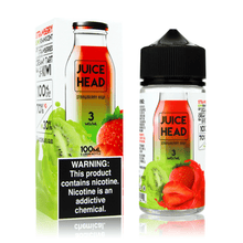 Juice Head E-Liquid - Strawberry & Kiwi