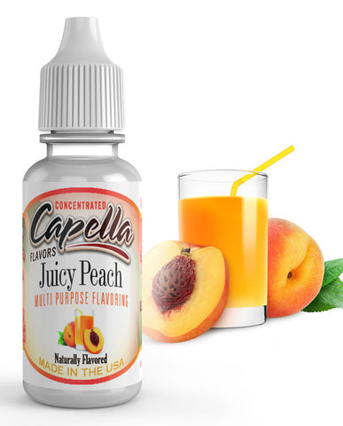 Juicy Peach Concentrate** (CAP) - Blck vapour