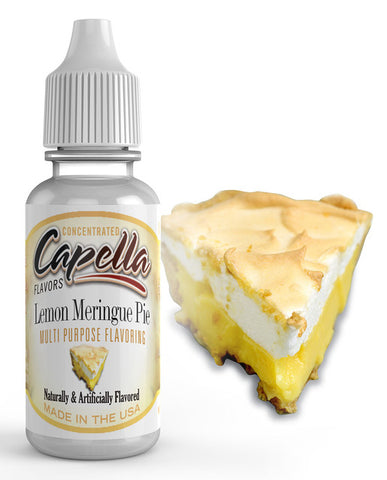 Lemon Meringue Pie v2 Concentrate (CAP) - Blck vapour
