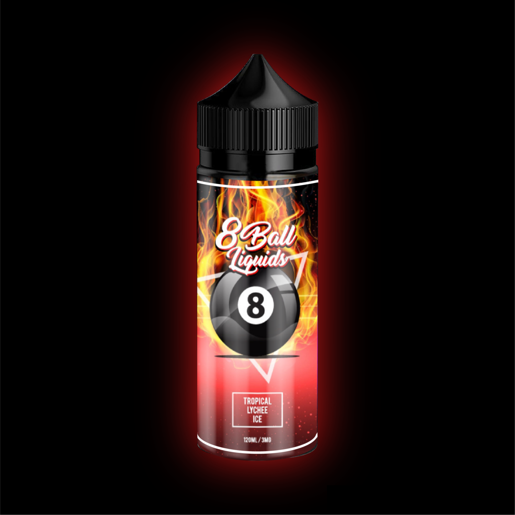 8 Ball E-Liquid - Tropical Lychee ice