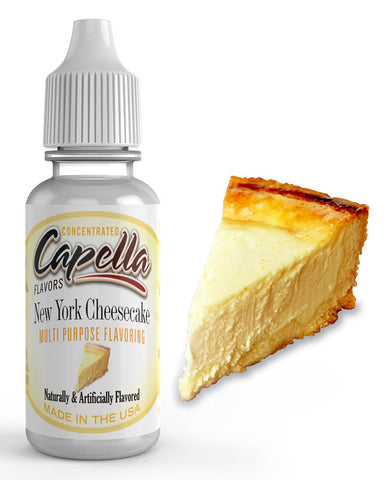 New York Cheesecake v2 Concentrate (CAP) - Blck vapour