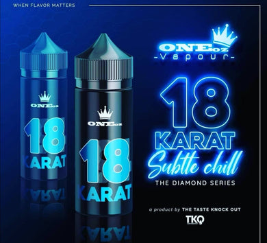 ONEoz Vapour & TKO E-Liquid - 18 Karat Diamond Series