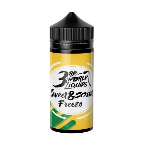 3rd World E-Liquid - Sweet & Sour Freezo