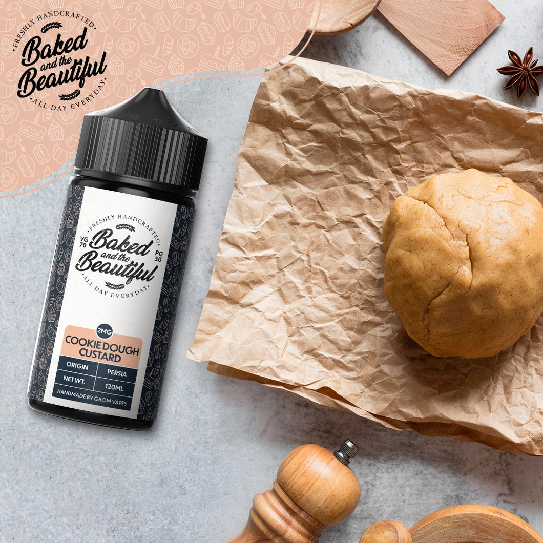 GBOM E-Liquid Baked & The Beautiful - Cookie Dough Custard