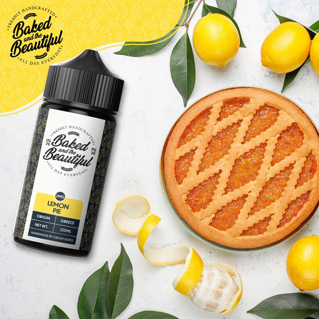 GBOM E-Liquid Baked & The Beautiful - Lemon Pie