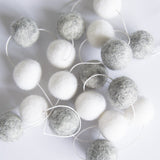 Grey & White Garland