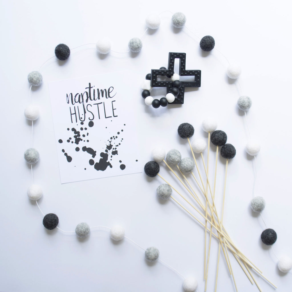 Monochrome Garland
