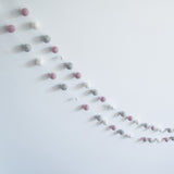 Pink, White & Grey Garland