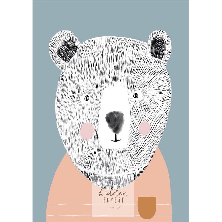 Teddy the Bear- Pastel colourway