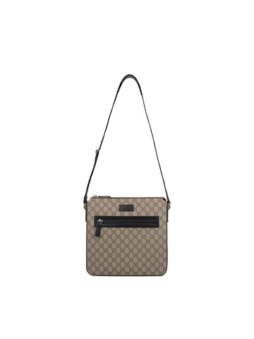Beige/black Gg Supreme Messenger Black 4935