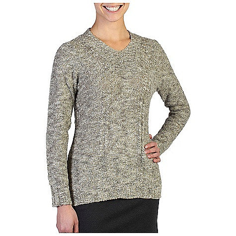 ExOfficio Women's Icelandia Boucle V Neck Top