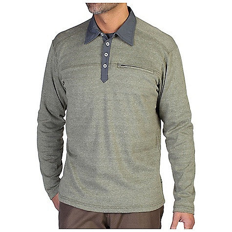 ExOfficio Men's Javano Polo LS Top