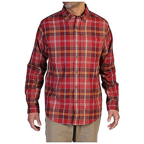 ExOfficio Men's Kegon Plaid LS Shirt