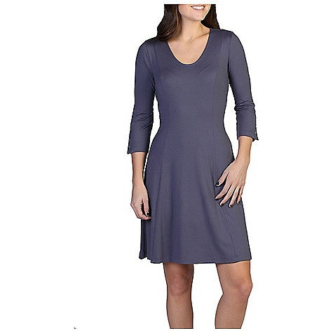 ExOfficio Women's Wanderlux 3-4 Sleeve Dress