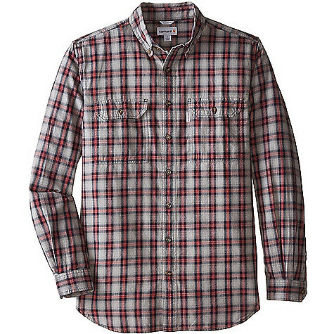 Carhartt Men's Fort Plaid LS Shirt
