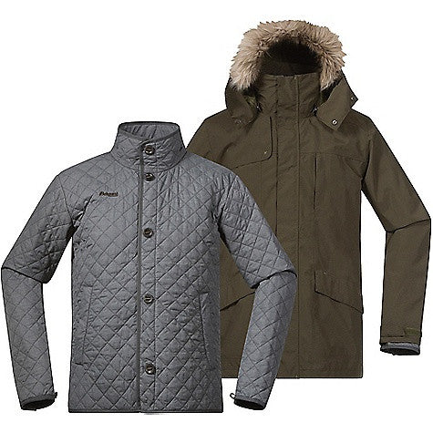 Bergans Men's Aune 3IN1 Jacket