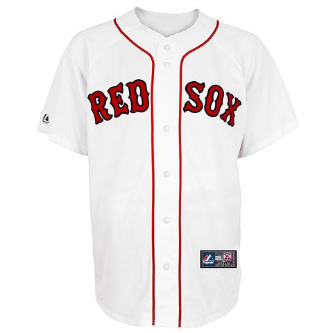 Big & Tall Majestic Boston Red Sox MLB Jersey Men's White