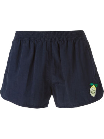 Ami Alexandre Mattiussi lemon patch swim shorts