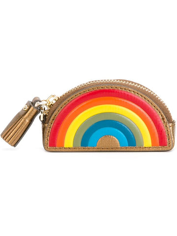 Anya Hindmarch 'Rainbow' coin purse