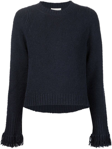 3.1 Phillip Lim fringed cuff sweater