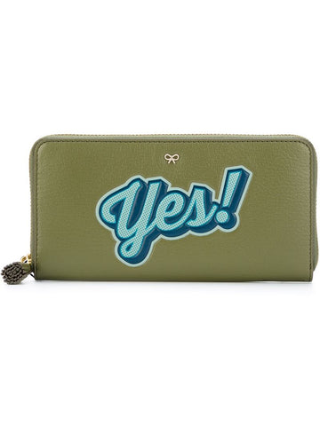 Anya Hindmarch 'No' zip purse
