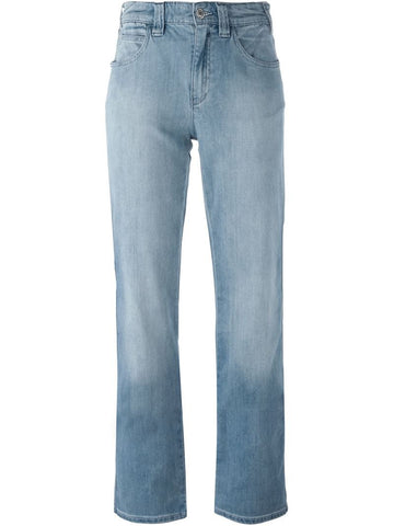 Armani Jeans straight leg trousers