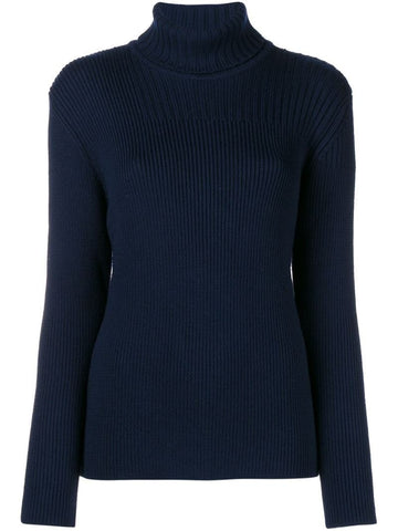 1205 Ribbed Polo Neck