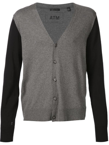 ATM two-tone cardigan