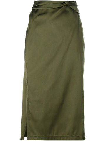 3.1 Phillip Lim Skirt with Knot Detail