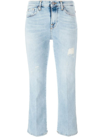7 For All Mankind 'Left Hand' cropped jeans