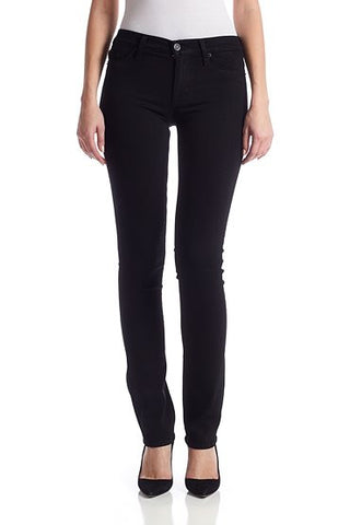 Black Tilda Midrise Straight by Hudson Jeans, 23