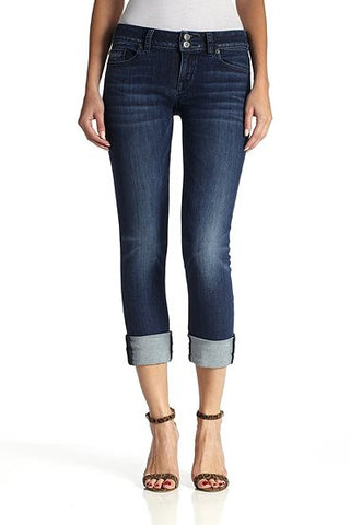 Battalion Ginny Crop Straight W/Cuff by Hudson Jeans, 26