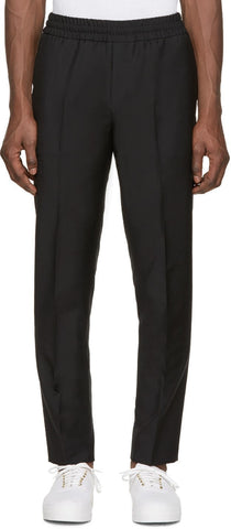 Acne Studios Black Wool Ryder Trousers