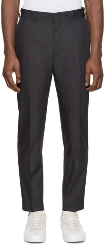 Acne Studios Black Aron T Pop Trousers