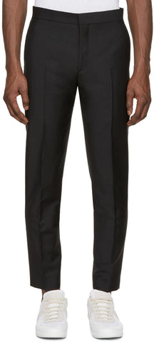 Acne Studios Black Wool Phono Trousers