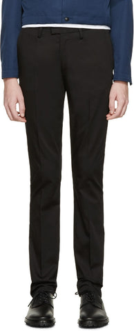 Acne Studios Black Max Satin Trousers