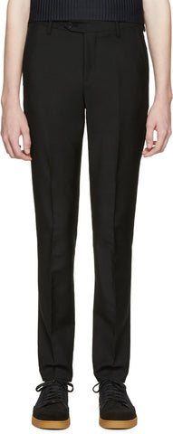 Acne Studios Black Drifter Trousers