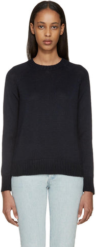 A.p.c. Navy Mademoiselle Sweater