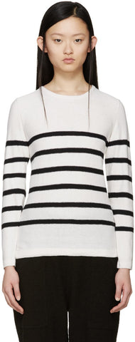 A.p.c. Cream and Black MariniaĬre Andy Sweater