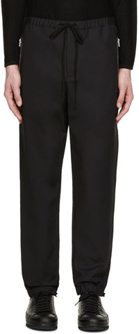 3.1 Phillip Lim Black Drawstring Trousers